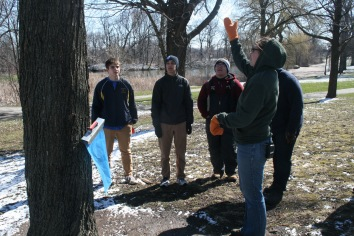 Rachel teaches us about collecting sap to make Maple Syrup