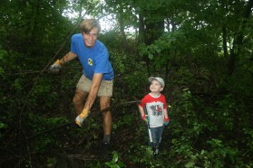 Clearing buckthorn (and loving it)