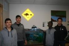 MUHS students volunteering at Bat Fest