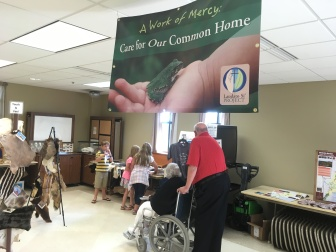Sustainability Weekend at St. Gabriel Parish in Hubertus