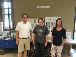 Our Great Team at the Sustainability Weekend at St. Gabriel Parish