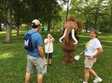 Ice Age Trail Alliance Mammoth mascot