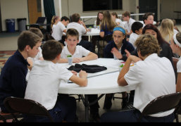 St. Dominic Middle School Retreat